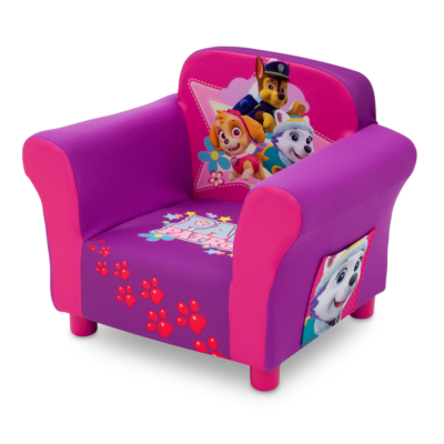 Delta Children Paw Patrol Pink Upholstered Chair