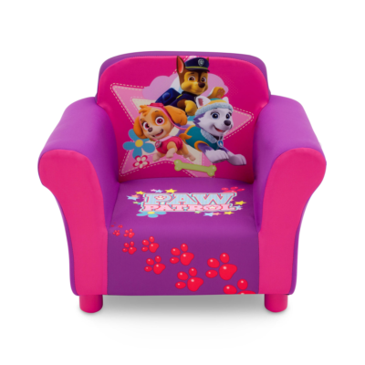 Delta Children Paw Patrol Pink Upholstered Chair1