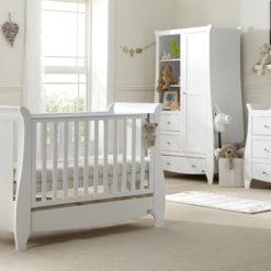 Katie 5 Piece Room Set White - Lifestyle (2)