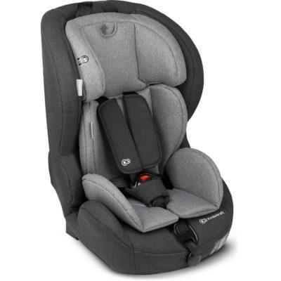 Kinderkraft Safety Fix ISOFIX Group 1,2,3 Car Seat - BlackGrey 3