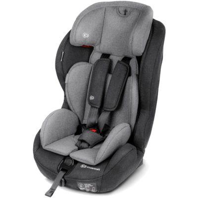 Kinderkraft Safety Fix ISOFIX Group 1,2,3 Car Seat - BlackGrey 7