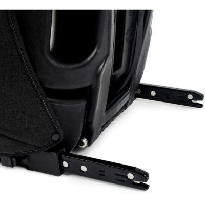 Kinderkraft Safety Fix ISOFIX Group 1,2,3 Car Seat - BlackGrey 8
