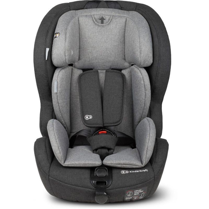 Kinderkraft Black/Grey Safety Fix ISOFIX Car Seat