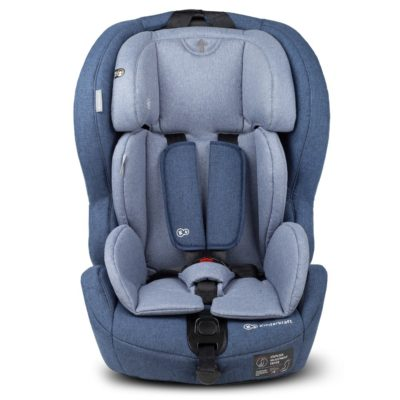 Kinderkraft Safety Fix ISOFIX Group 1,2,3 Car Seat - Navy
