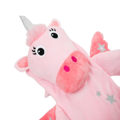 Potwells Ursula the Unicorn Long Hot Water Bottle