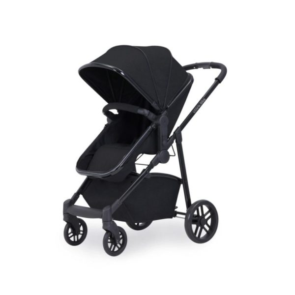 ickle bubba moon 3 in 1 isofix travel system stroller black