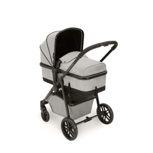 ickle bubba moon pram silver grey