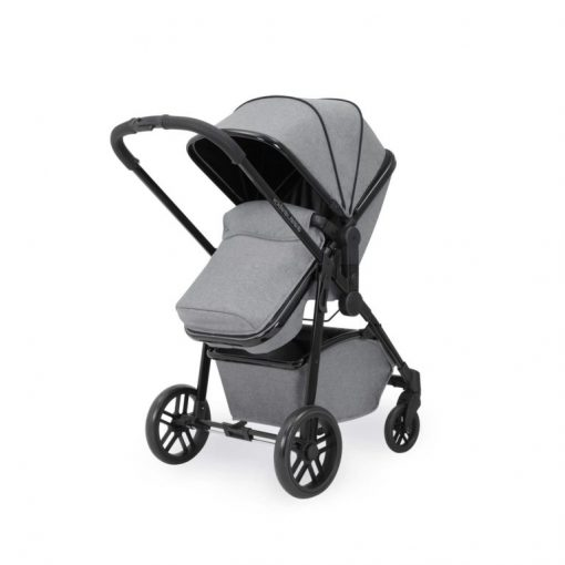 ickle bubba moon pushchair with footmuff space grey