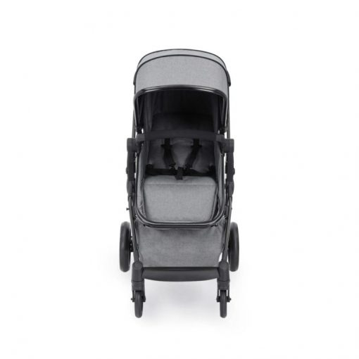 ickle bubba moon stroller front on space grey