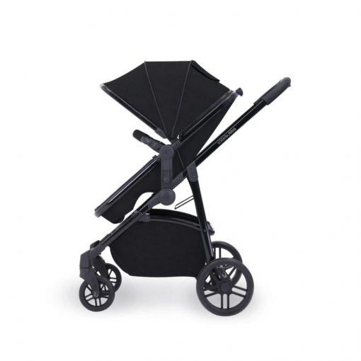 ickle bubba moon stroller side on black