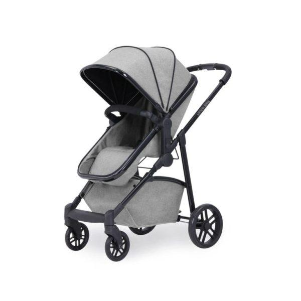 ickle bubba stroller silver grey