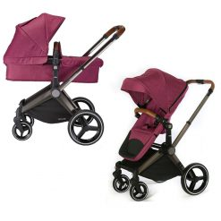 mee-go venice child kangaroo pram and stroller radiant orchid