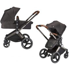 mee-go venice child kangaroo pram charcoal pram and stroller