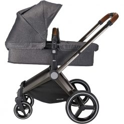 mee-go venice child twilight grey pram stroller