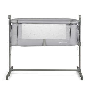 Kinderkraft Neste Bedside Crib (Grey)