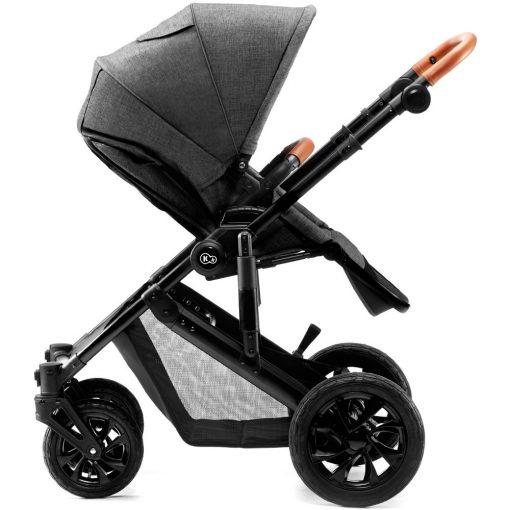 Kinderkraft Prime 3-in-1 Travel System - Grey