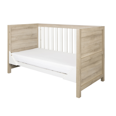 tutti bambini modena cot bed side on