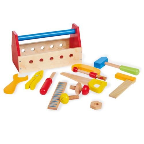 Pinolino Wooden Toolbox - Erwin