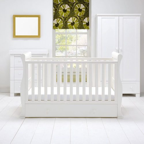 East Coast Alaska 3 Piece Nursery Room Set White