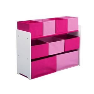 Delta-Children-pink-Multi-bin-Organizer