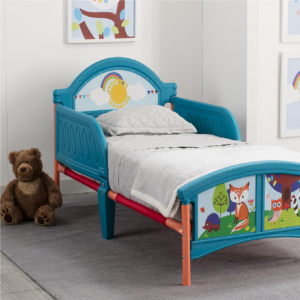 Delta-children-woodland-fox-owl-toddler-bed