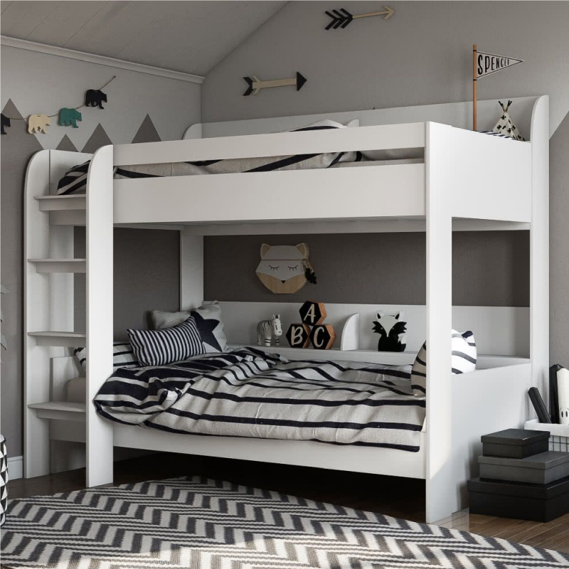 Kidsaw-Aerial-Bunk-Bed-White