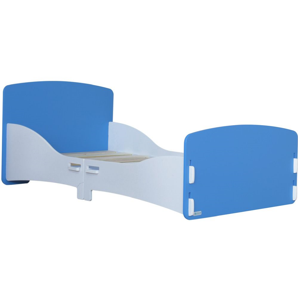 Kidsaw-Junior-Toddler-Bed-in-Blue-and-White
