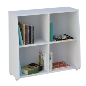 Kidsaw-Loft-Station-Bookcase-White