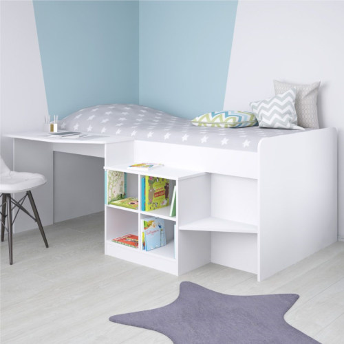 Kidsaw White Pilot Cabin Bed