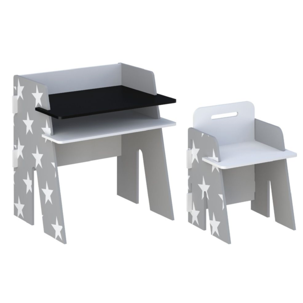 Kidsaw-Star-Desk-Chair-grey