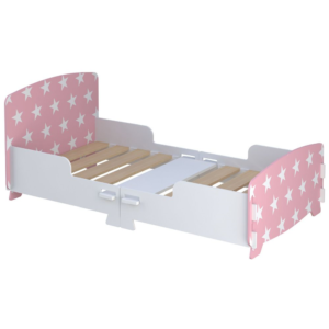 Kidsaw-Star-Junior-Toddler-Bed-Pink1