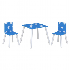Kidsaw-Star-Table-Chairs-Blue