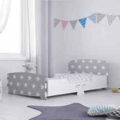 Kidsaw-star-junior-toddler-bed-grey