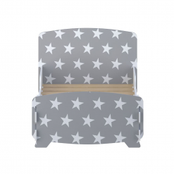 Kidsaw-star-junior-toddler-bed-grey2