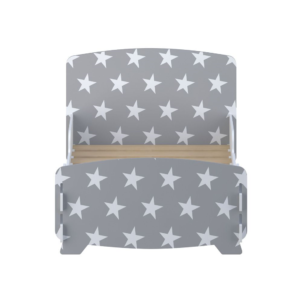 Kidsaw-star-junior-toddler-bed-grey2