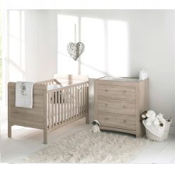 east coast fontana 2 piece nursery room set