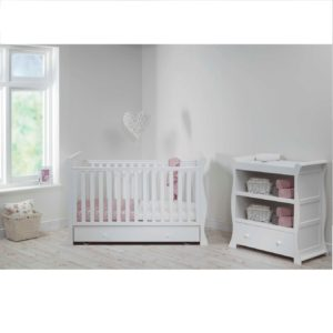 kensington sleigh 2 piece nursery room set
