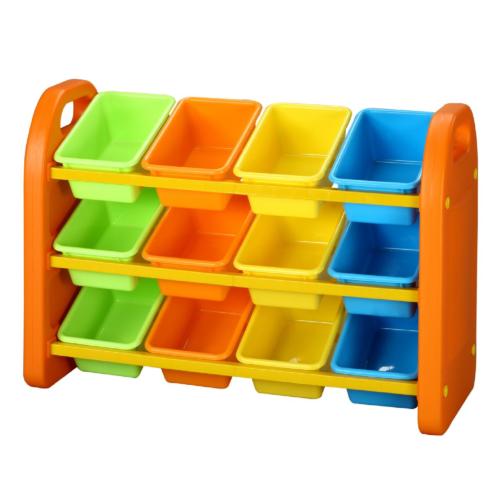 12-Bin-Storage-Organiser