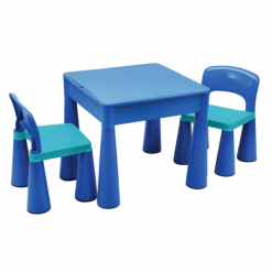 5-in-1-Multipurpose-Activity-Table-2-Chairs-BLUE
