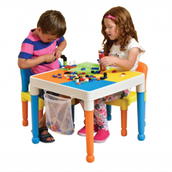 Liberty House Toys - Multipurpose Activity Table & 2 Chairs with storage bag1