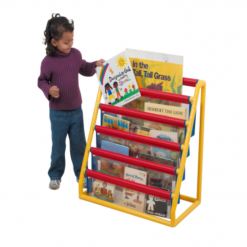 Liberty House Toys - 5-Pocket Clear Book Display