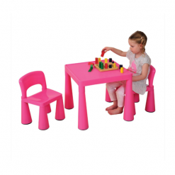 CHILDRENS-PINK-TABLE-CHAIRS-SET-1