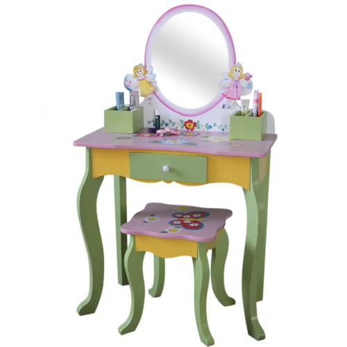 Liberty House Toys - Fairy Dressing Table & Stool