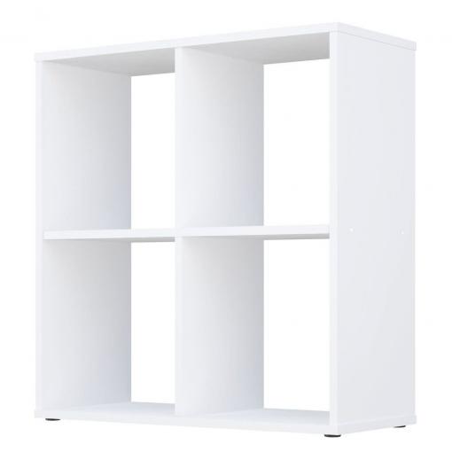 Kudl-Home-Smart-4-Cubic-Section-Shelving-Unit-White2