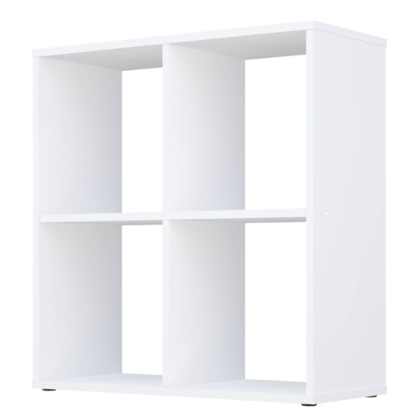 Kudl-Home-Smart-4-Cubic-Section-Shelving-Unit-White2