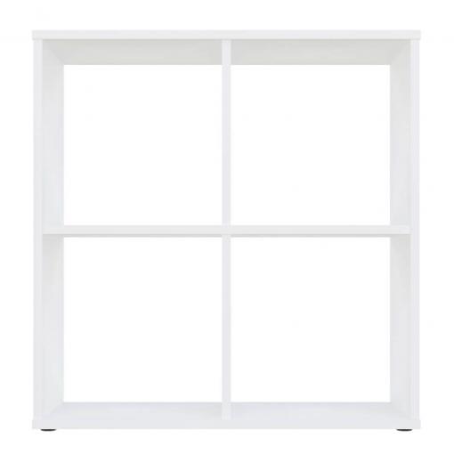 Kudl-Home-Smart-4-Cubic-Section-Shelving-Unit-White3