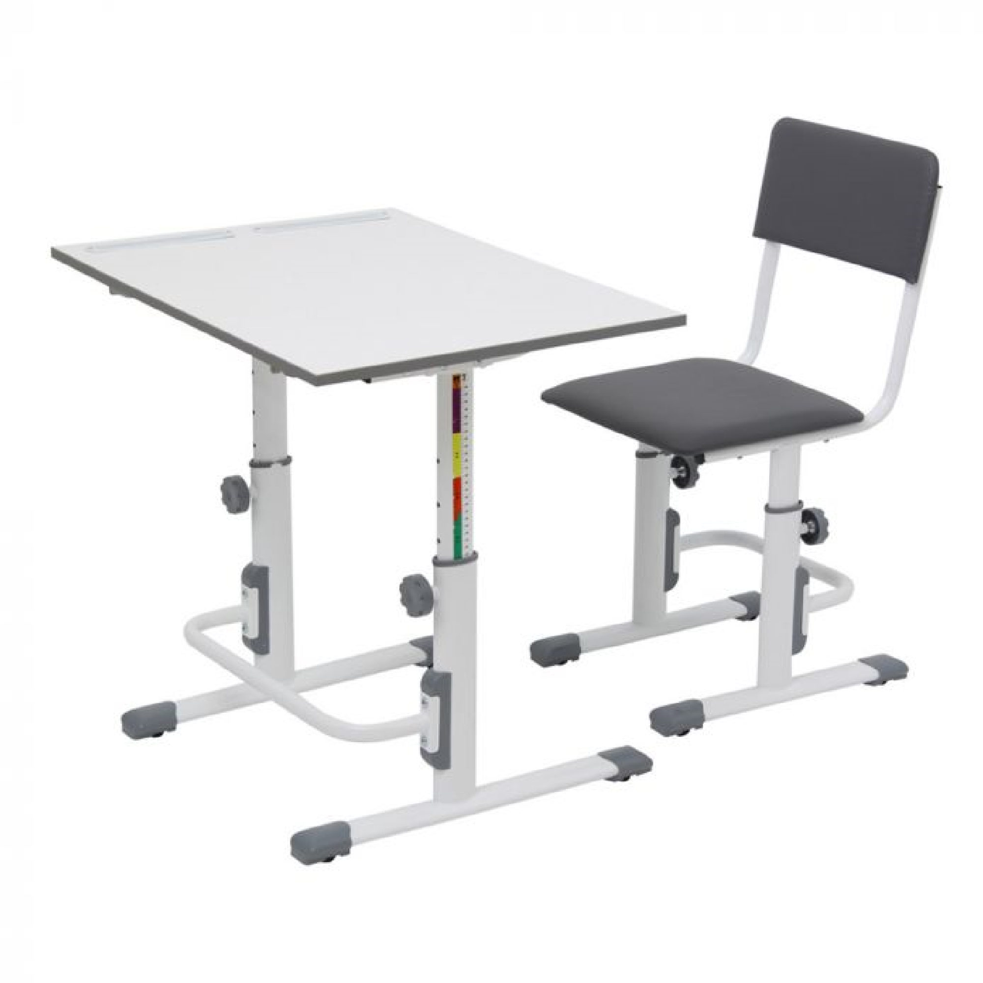 Kudl Kids Height Adjule Study Chair And Desk