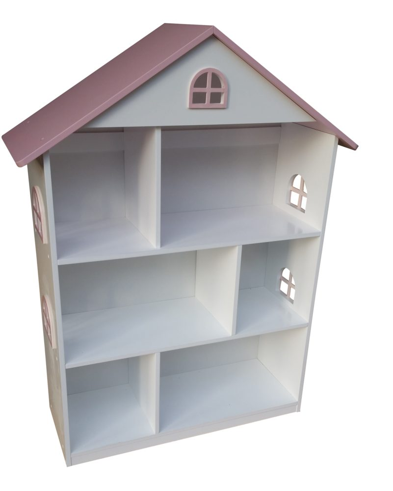 Liberty House Toys - Transport Toy Dollhouse Bookshelf with Cupboard3