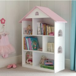 Liberty House Toys - Transport Toy Dollhouse Bookshelf with Cupboard2