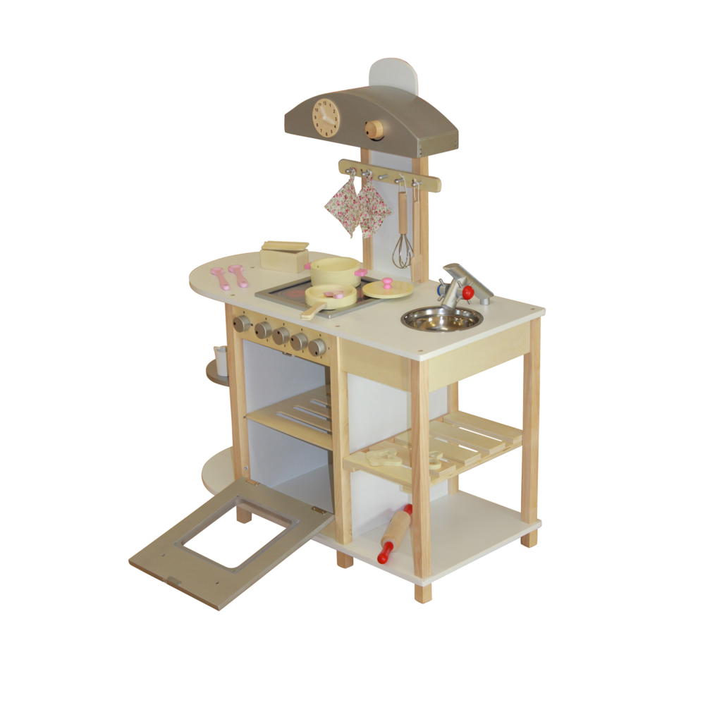 Liberty-House-Toys-Breakfast-Bar-Wooden-Toy-Kitchen-with-accessories3
